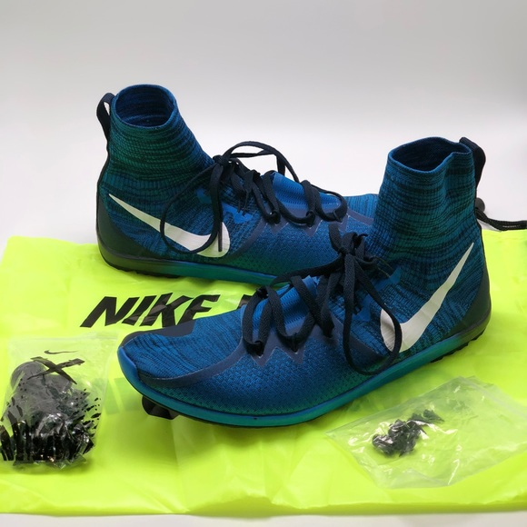 cross country spikes size 4